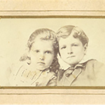 Florence and Harry Sturtevant - c 1880